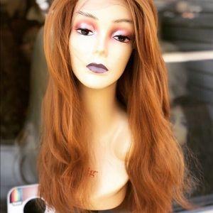 Ariel Fulllace Copper Ginger Irish Wig
